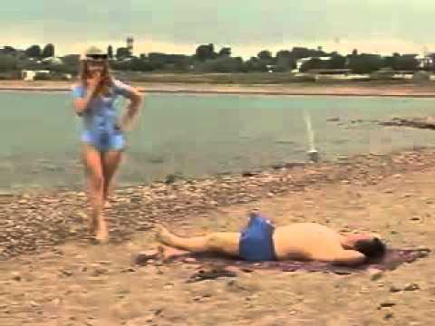 Секс на пляже жесть