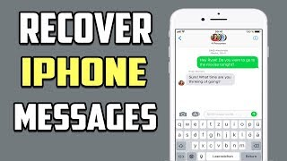 How to Recover Deleted Messages on iPhone (Without Backup) 2018 | Turkmen Tech