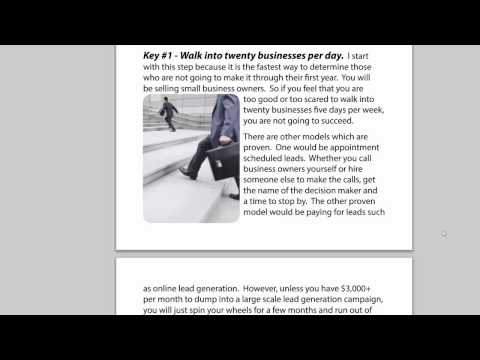 Merchant Sales Monthly - Volume 3