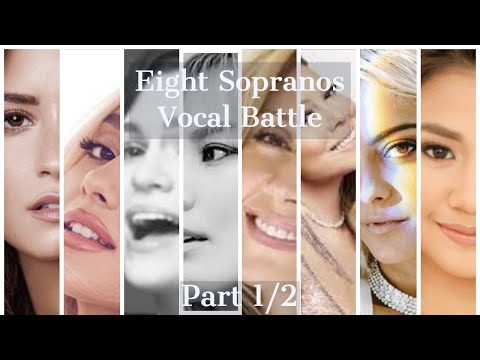 EIGHT SOPRANOS VOCAL BATTLE (Demi, Ariana, Jessie, So Hyang, Lara, Mariah, Bebe, Morissette) PART 1