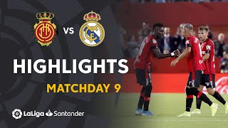 Highlights RCD Mallorca vs Real Madrid (1-0)