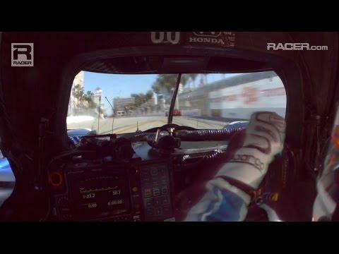 RACER: Ozz Negri's Wild Long Beach IMSA P2 In Car
