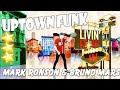 Uptown  Funk - Mark Ronson ft Bruno Mars - Just dance 2016