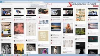 Was ist Pinterest? - Supportnet testet und erklärt das neue soziale Netzwerk