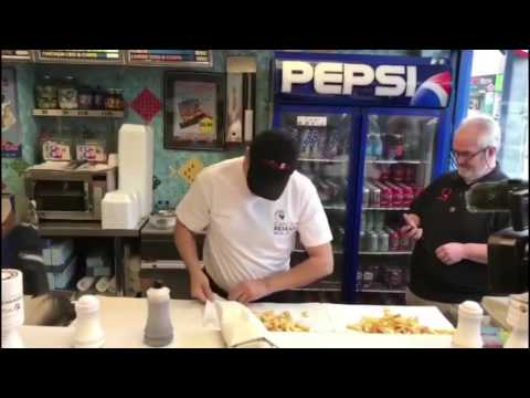 Albany Fish Bar Breaks Chip Wrapping World Record