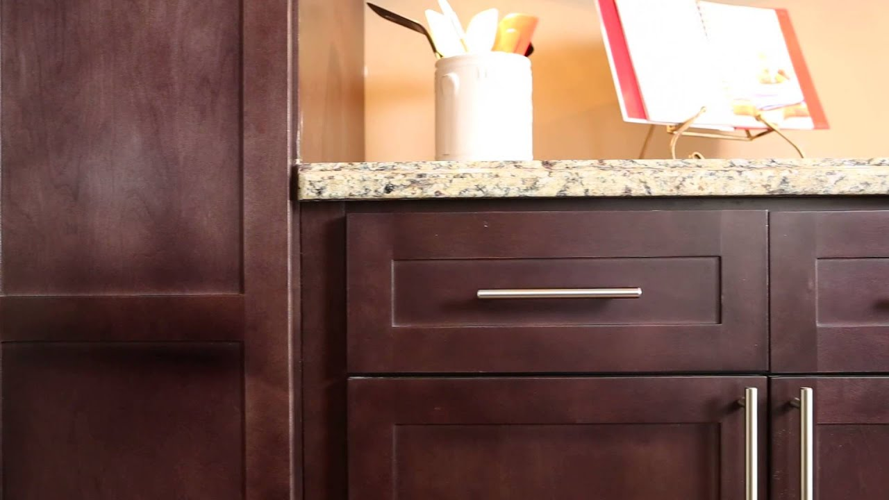 Shaker Espresso Kitchen Cabinets | Wholesale Kitchen ...