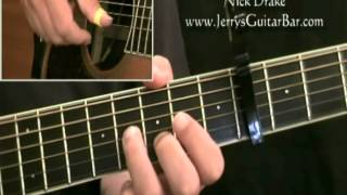 how to play nick drake fly (intro only)