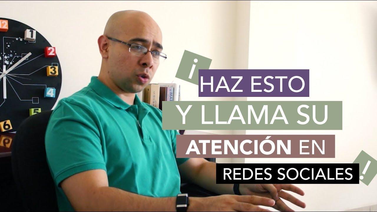Llama Su Atencion En Redes Sociales Como Llamar La Atencion De Un Hombre Y Atraerlo Youtube