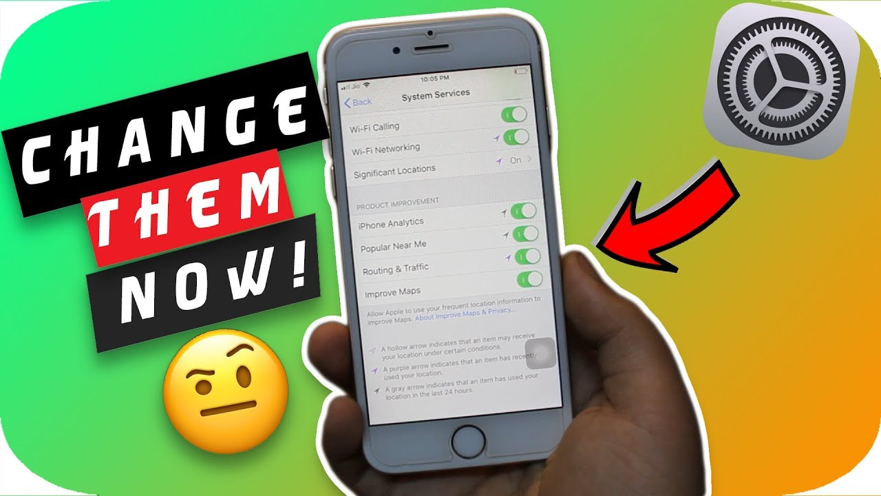 iPhone Settings You Should Change Right Now ! iOS 12 | 2019 (HINDI)