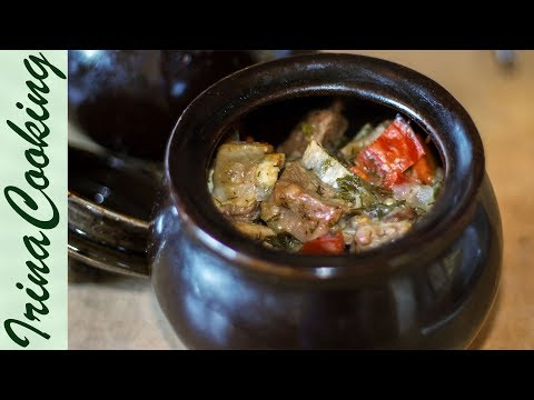 Мясо в Горшочках с Картошкой в Духовке 🍲 Ирина Кукинг