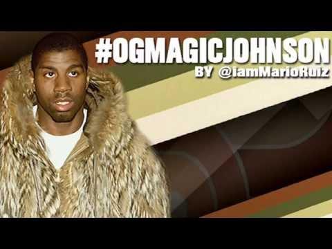 Mario Ruiz - OG Magic Johnson lyric video