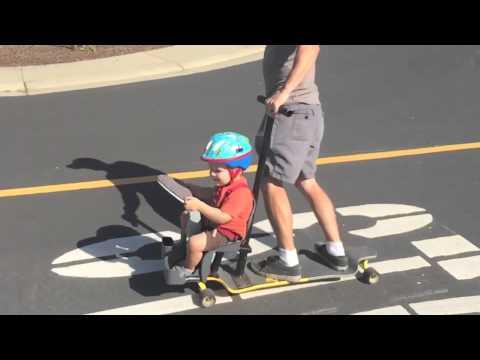 longboard stroller youtube