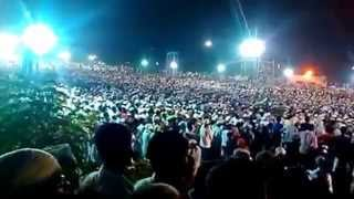 Karnataka Yathra- What a crowd at Mangalore!