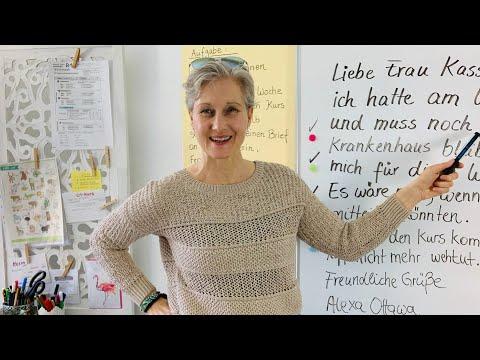 DTZ halbformeller Brief | Entschuldigung schreiben | B1 | Deutsch lernen