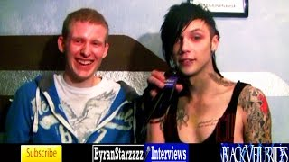 Black Veil Brides Reads 50 Shades Of Grey (Andy Biersack & Christian Coma Interview 2014)
