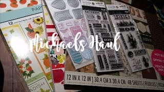 💕Michaels Haul & More💕 Hot Buy Paper Pads!!!💕