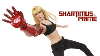 Hot Toys Pepper Potts Iron Man 3 Movie Masterpiece 1:6 Scale Gwenith Paltrow Action Figure Review