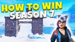 How To Win Your 1st Solo In Fortnite Season 7! | Battle Royale Tips