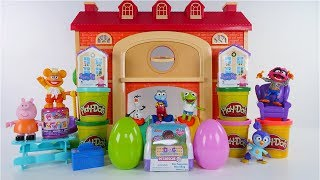 Muppet Babies Schoolhouse New Peppa Pig and Doc Mcstuffins Surprise Toys  with DCTC Amy Jo