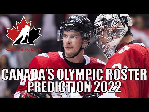 Predicting Team Canada's 2022 Olympic Hockey Roster