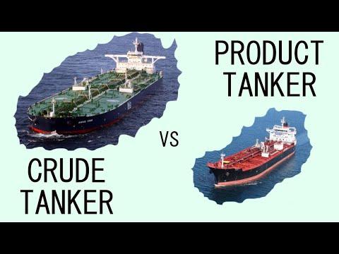 Crude Tanker vs Product Tanker