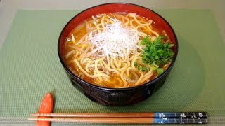 How to make TanTan Ramen Noodle / 負けないラーメンです