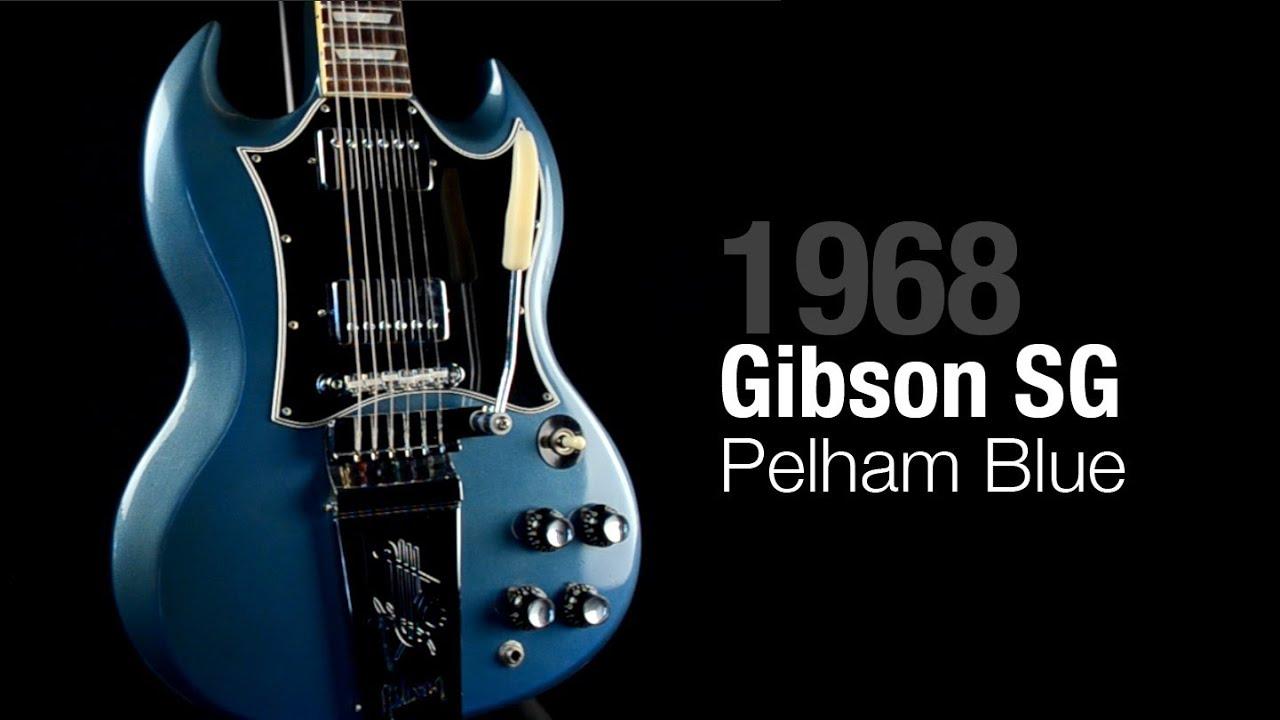 1968 gibson pelham blue sg youtube. Black Bedroom Furniture Sets. Home Design Ideas