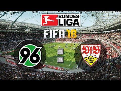 FIFA 18 Bundesliga Hannover 96 : VfB Stuttgart | Gameplay Deutsch Livestream