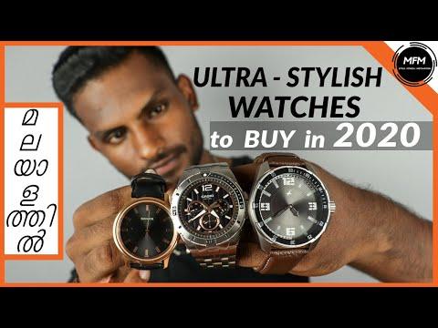 3 STYLISH WATCHES MEN Should BUY In 2020 | Men's Fashion Malayalam