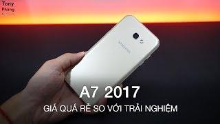 [Smartphone] Cùng trải nghiệm Galaxy A7 2017, trải nghiệm quá tốt so với giá tiền - Tony Phùng