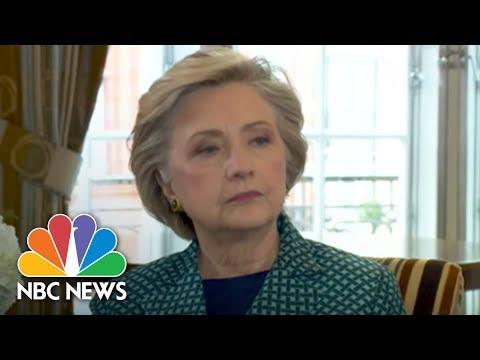 Hillary Clinton Compares Weinstein To President Trump | NBC News