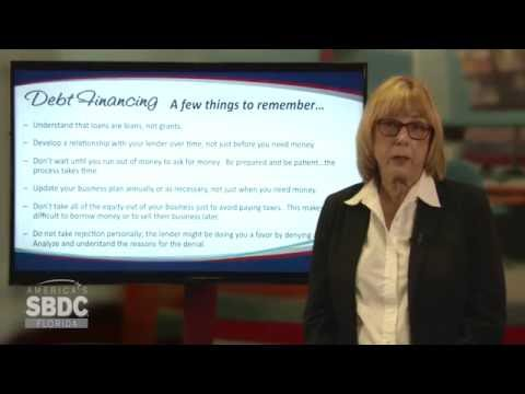 Florida SBDC Access to Capital Training Series:  Debt Financing (4 of 6)