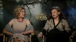 "Christine Baranski & Tracey Ullman take us ""Into the Woods"""