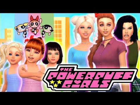 💙💖💚POWERPUFF GIRLS - TO TEENAGERS!💙💖💚 In the Sims 4!
