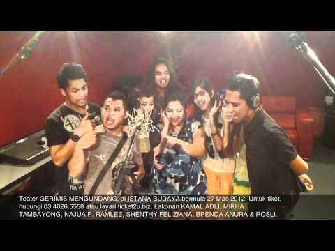 Detik Gembira Latihan Teater Muzikal  Gerimis Mengundang