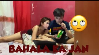 NOT TALKING TO MY GIRLFRIEND(sya lang daw dapat attitude) PRANK | LarsXClyde