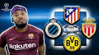 Group A | Atletico Madrid, Dortmund, AS Monaco, Club Brugge | UCL Predictions