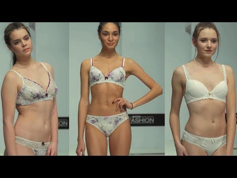 Young models showing everything Lingerie