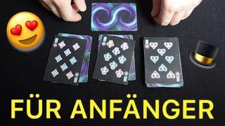 Einfacher Cooler Kartentrick mit Erklärung - die perfekte Vorhersage