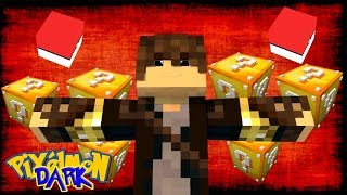 MINECRAFT: PIXELMON DARK - EP 19 - LUCKY BLOCK DARK DA SORTE   - GENERATIONS