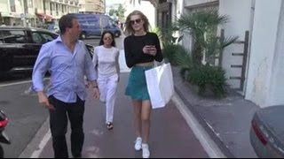 EXCLUSIVE - Toni Garrn and Michelle Rodríguez had a walk in Cannes