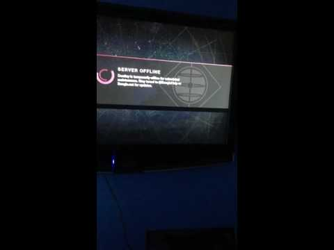 Destiny's server is OFFLINE ?!