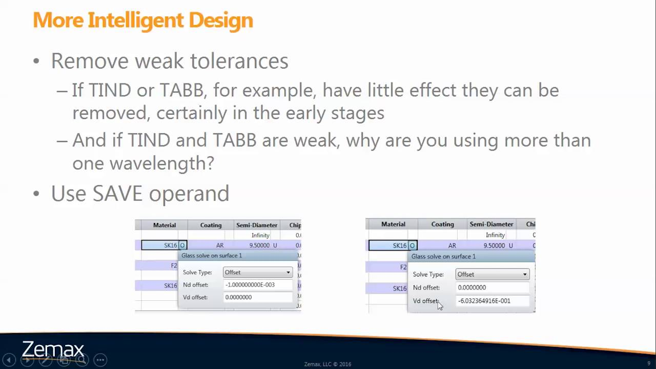 How to Accelerate Your Tolerance Analysis | OpticStudio