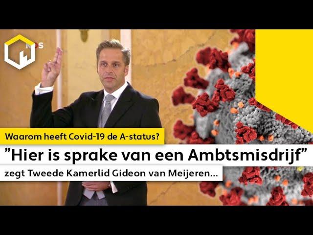 """""""Hier is sprake van een Ambtsmisdrijf"""" zegt Tweede Kamerlid Gideon van Meijeren..."""