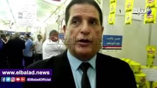 «الغرفة التجارية» بكفر الشيخ تحارب الغلاء بمعرض «خير بلدنا».. فيديو وصور