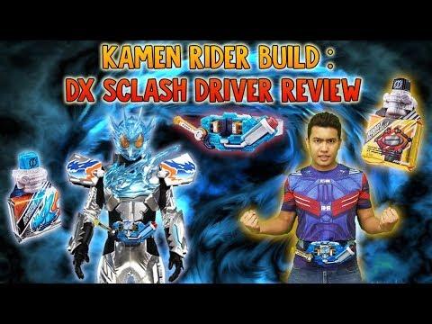 Kamen Rider Build: DX Sclash Driver  Kamen Rider Cross Z Charge review FROM SAMURAI BUYER