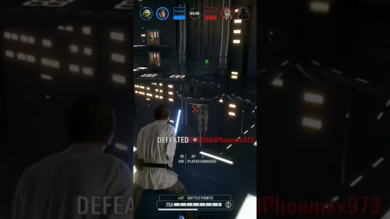 Short: Taunting Vader Gets Put in His Place