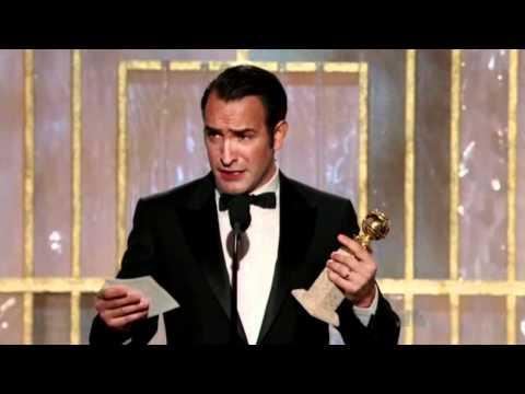 Jean Dujardin wins Golden Globe for The Artist