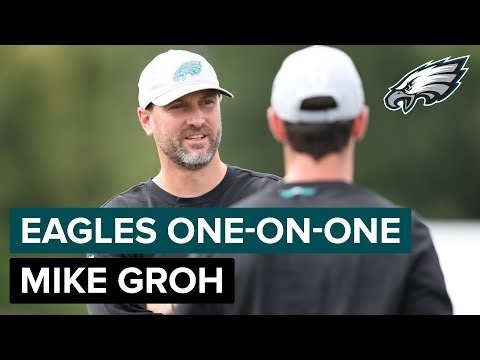 Mike Groh Discusses What He Looks To Accomplish In 2018 | Eagles One-On-One