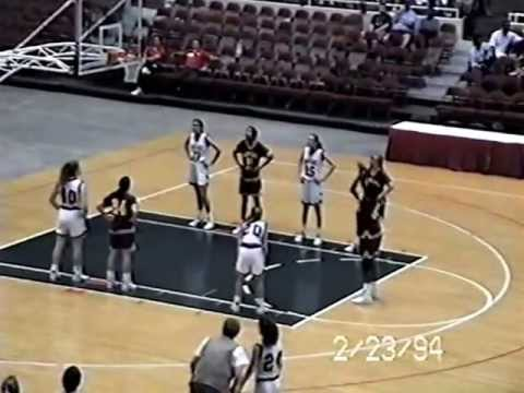 Keystone Heights High School Girls Basketball Semi-final playoff game against Tallahassee - 1994